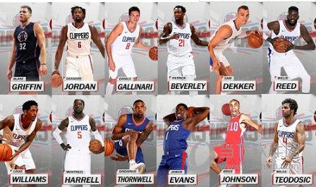 NBA2K18快船全队球员高清照片补丁