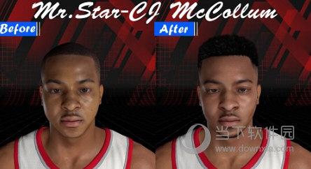 NBA2K18迈克勒姆高清照片面补MOD