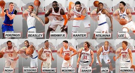 NBA2K18尼克斯全队球员高清照片补丁