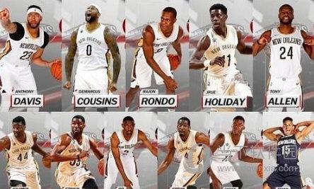 NBA2K18鹈鹕全队球员高清照片补丁