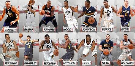 NBA2K18爵士全队球员高清照片补丁