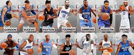 NBA2K18魔术全队球员高清照片补丁