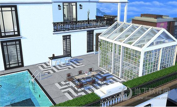 模拟人生4现代豪华顶层公寓PENTHOUSE房屋MOD