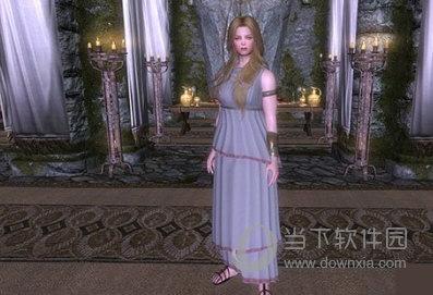 上古卷轴5智慧与战争女神雅典娜随从MOD