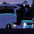 欧洲卡车模拟2奔驰大巴MOD V1.0 免费版