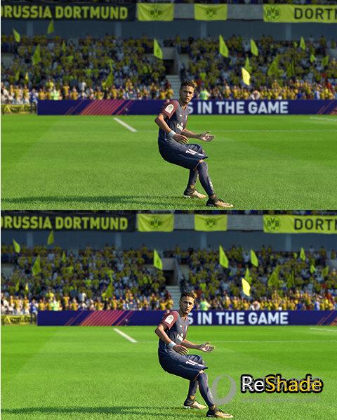 FIFA18ReShade画质补丁