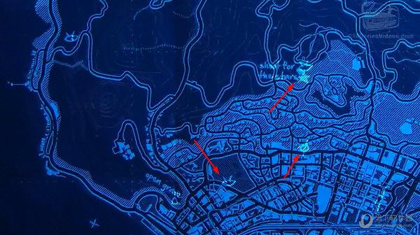 gta5蓝色地图彩蛋 典藏版附赠地图大有文章