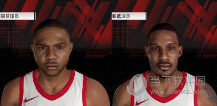NBA2K18火箭队阿里扎戈登身形发型面补MOD