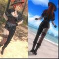 死或生5最后一战绫音魔剑英雄西耶娜性感牛仔套装MOD