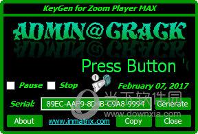 Zoom Player MAX注册机
