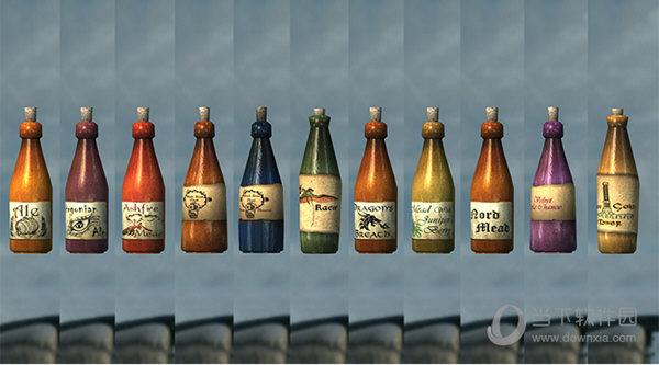 上古卷轴5重制版天际瓶子美化MOD