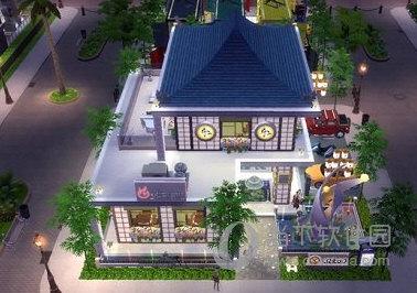 模拟人生4日式餐厅MOD