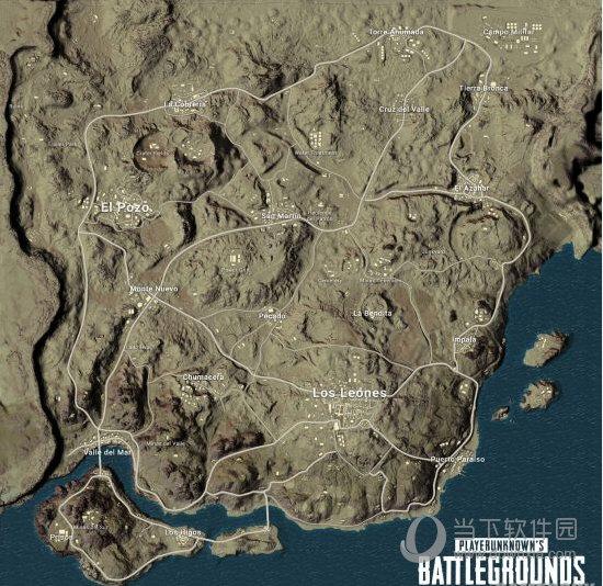 绝地求生新地图