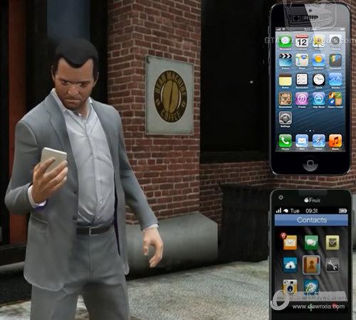 麦克的iFruit则是iPhone手机