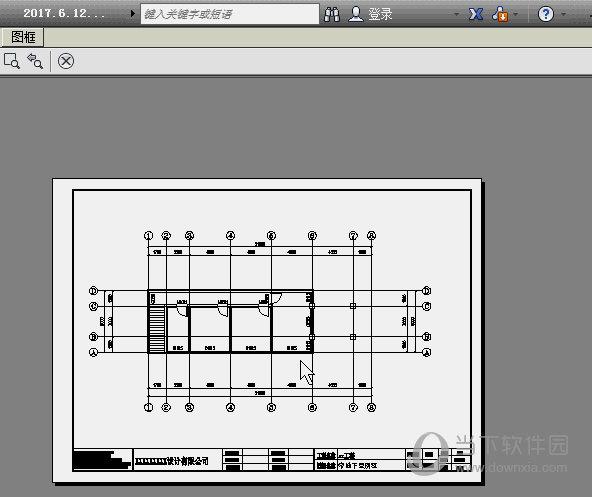 AutoCAD图框打印预览