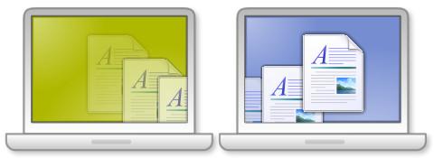 在Mac和Windows之间拖放文件