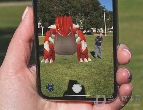 Pokémon Go游戏界面截图2