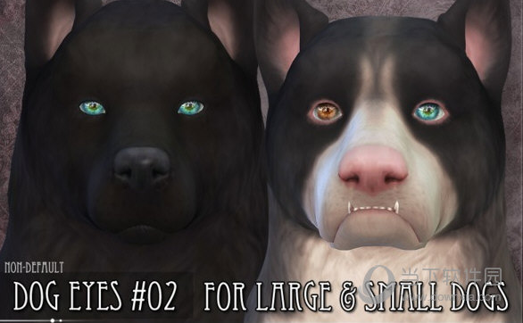 模拟人生4星球效果的狗狗眼睛包MOD