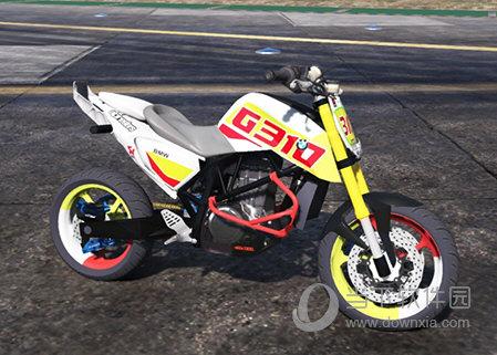 GTA5KTM Duke690无头特技摩托车MOD