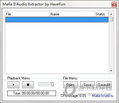 Mafia II Audio Extractor