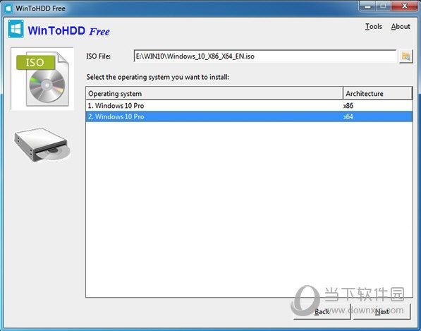 点击ISO file右方的小图标来选择你下载的Windows镜像