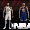 NBA2K18勇士队斯蒂芬库里最新身形MOD 免费版