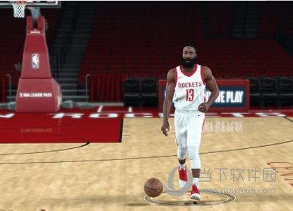 NBA2K18火箭队哈登最新身形MOD
