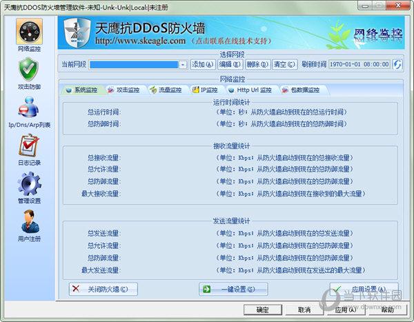 天鹰抗DDOS防火墙