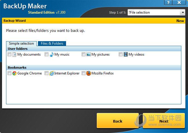 BackUp Maker