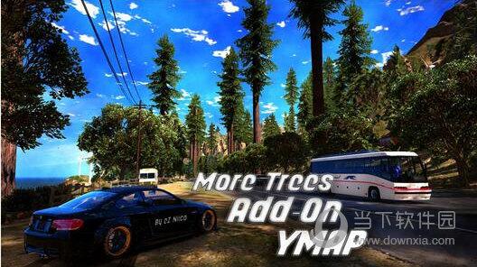 GTA5场景增加更多树木MOD