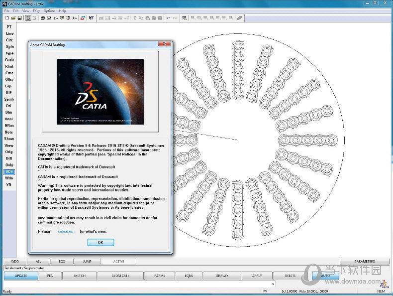 DS CADAM Drafting