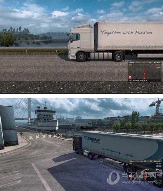 欧洲卡车模拟2真实画质补丁