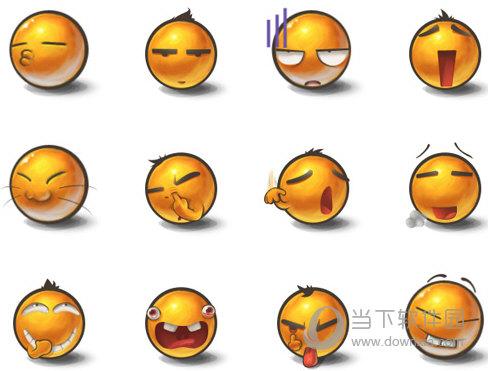 每一款图标都会有不同的表情,表情非常的可爱,而且还做着搞笑的动作