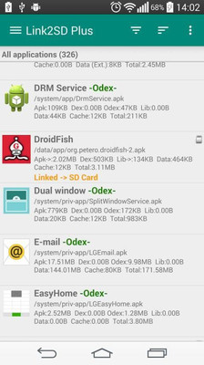 Link2SD(手机内存扩展工具) V4.0.13 安卓加强版截图2