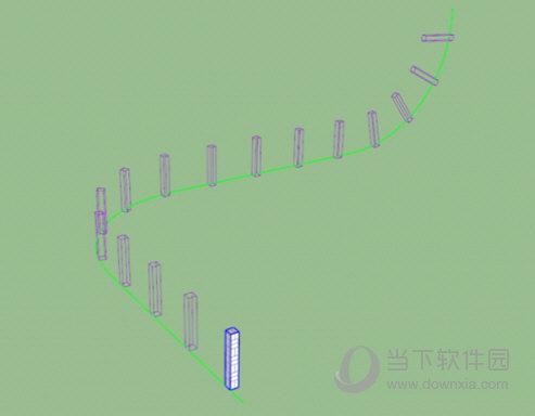 sketchup曲线阵列插件