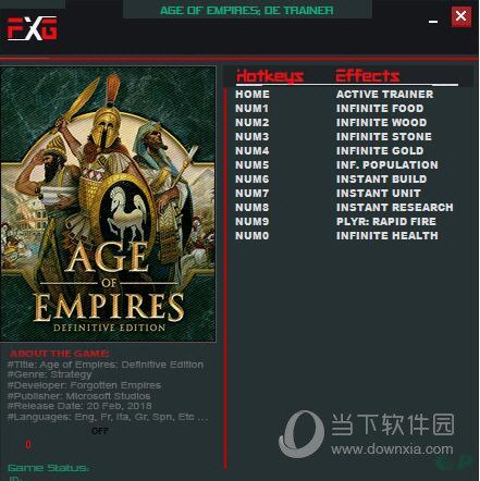 帝国时代终极版十项修改器