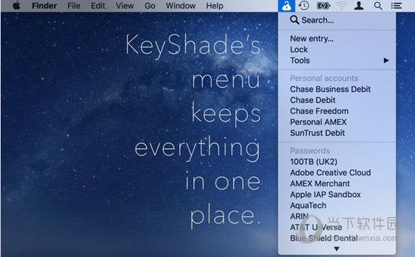 KeyShade Mac版