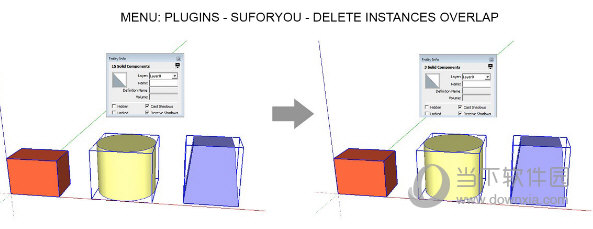 Delete Instances Overlap