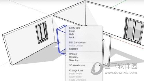 Sketchup简单墙体插件