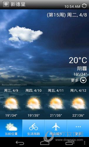百资天气预报APP