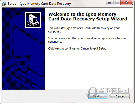Igeo Memory Card Data Recovery