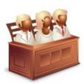 Q版法律图标 免费版