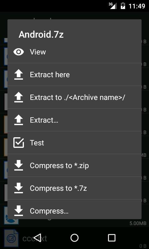 ZArchiver Pro(解压缩工具) V0.9.2 安卓中文版截图3