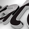 Black Classic 3D Logo(三维黑色光泽LOGO标志AE模板) V2.0 免费版