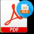 Adept PDF to Excel Converter(PDF转Excel工具) V3.70 官方版
