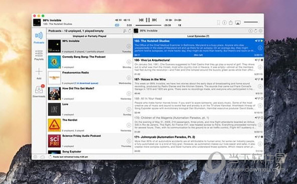 Downcast for Mac