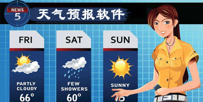 天气预报软件