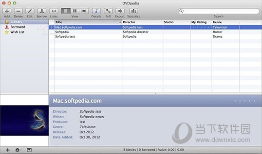 DVDpedia for Mac