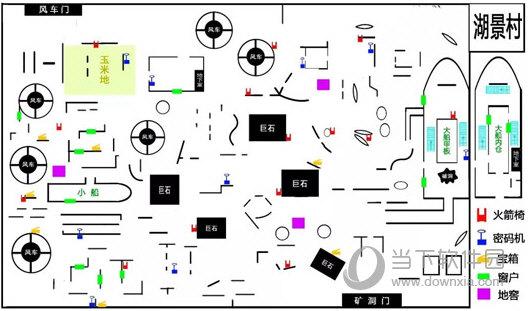 第五人格湖景村平面图 渔村平面图介绍