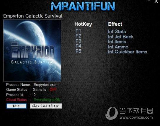 帝国霸业银河生存五项修改器